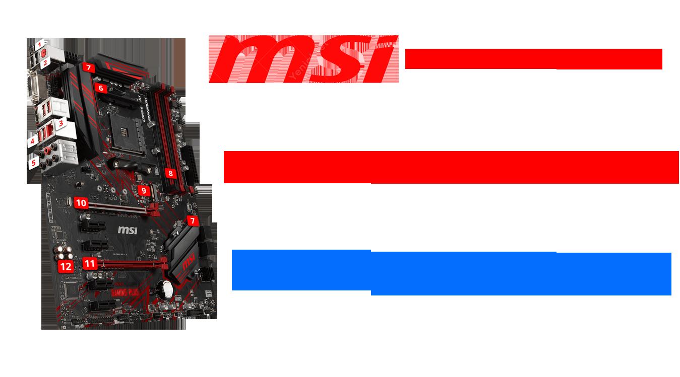 Msi Anakart Servisi Tamiri Değişimi