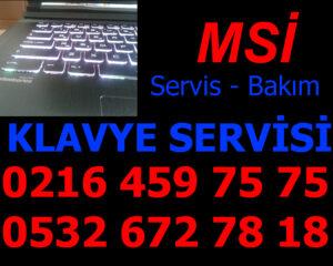 MSİ Laptop Klavye Servisi