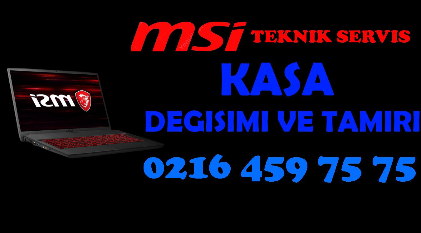 Msi GP62M Kasa Değişimi ve Tamiri